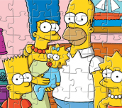 Hra - Simpsons Jigsaw