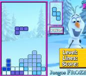Hra - Olaf Tetris