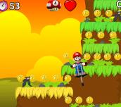 Hra - Mario Pogo Stick