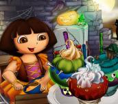 Hra - Dora Halloween Cupcakes