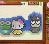 Hra - Hello Kitty Cross Stitch