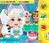 Hra - Elsa Royal Ball Slacking