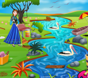 Hra - Princess Anna River Cleaning