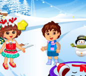 Hra - Dora Christmas Time