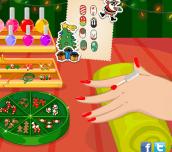 Hra - Christmas Fab Nails