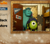 Hra - MonstersUniversityJigsawPuzzle