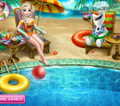 Hra - Elsa Swimming Pool