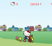 Hra - Hello Kitty City Ride