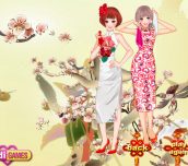 Sister's Cheongsam Show