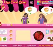Hra - LisaFoodShop