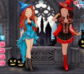 Hra - Zoe&LilyHalloweenParty