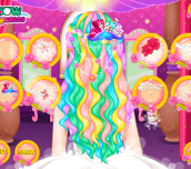 Hra - RapunzelWeddingHairDesign