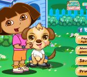 Hra - Dora Cute Puppy Caring