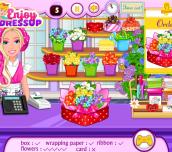 Hra - Barbie'sFlowerShop