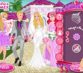 Hra - Princess at Barbie's Wedding