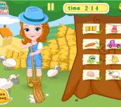 Hra - Princess Sofia Farm Challenge