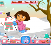 Hra - Dora Snow Challenges
