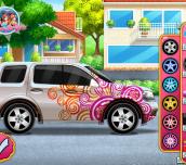 Hra - Elsa's Fancy Car
