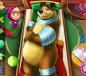 Hra - Masha & The Bear Injured