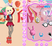 Hra - Ever After High Carnival Date Bunny Blanc