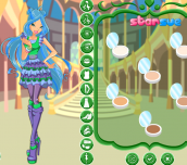 Hra - Winx Club Flora Season 5 Outfits