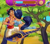 Hra - Jasmine & Aladdin Kissing