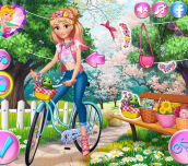 Hra - Princesses Bike Trip