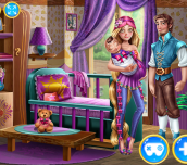 Hra - Rapunzel And Flynn Happy Family