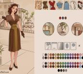 Azaela's 1940s Fashion