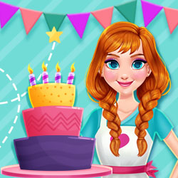 Hra - PrincessKitchenStoriesBirthdayCake