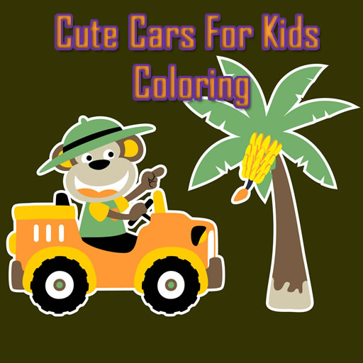 Hra - Cute Cars for Kids Coloring