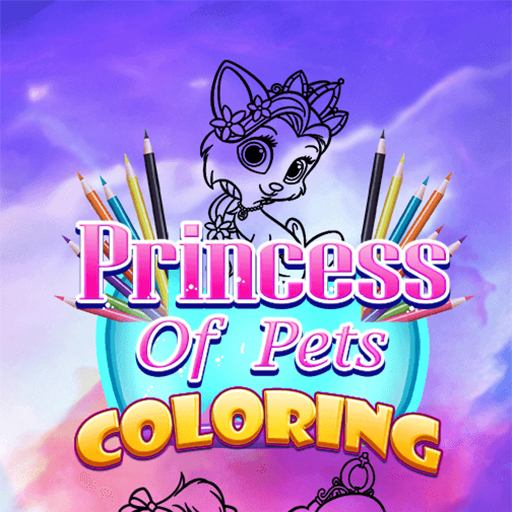Hra - Princess of Pets Coloring