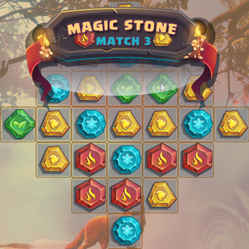 Hra - Magic Stone Match 3 Deluxe