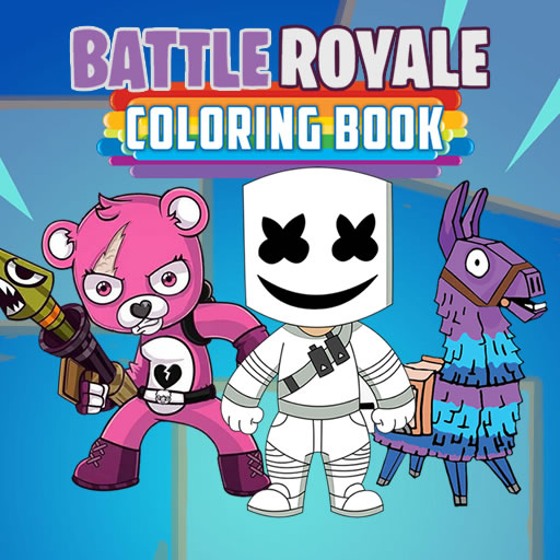 Hra - Battle Royale Coloring Book