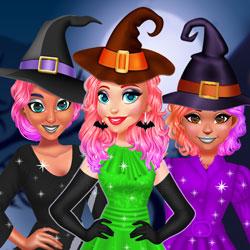 Hra - Princesses Witchy Dress Design