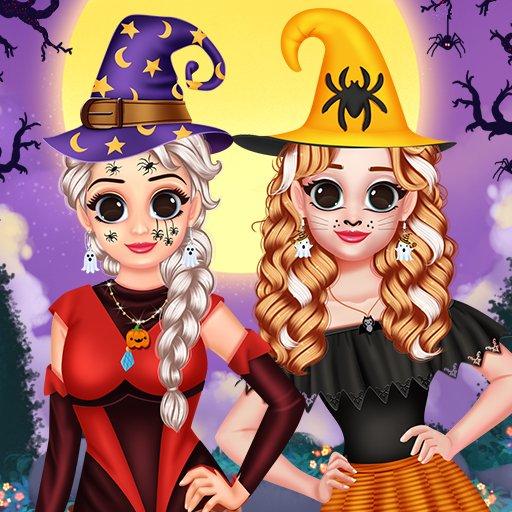 Hra - Princess Hello Halloween