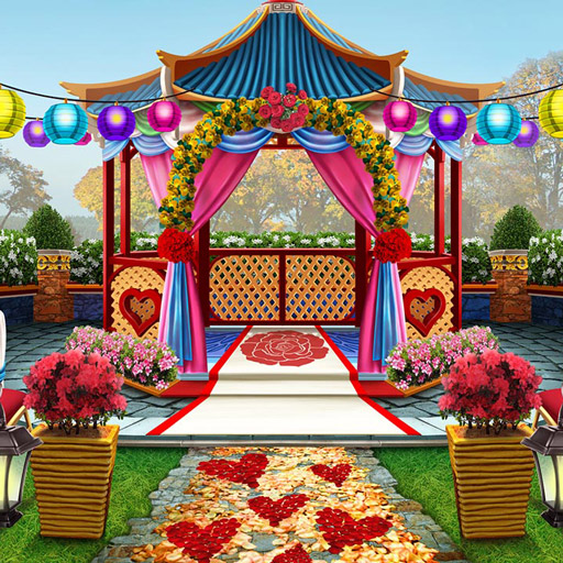 Hra - Mary Knots Garden Wedding Hidden Object