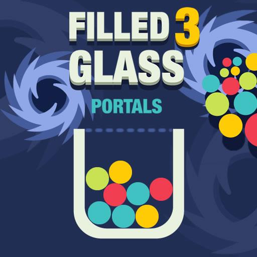 Hra - Filled Glass 3 Portals
